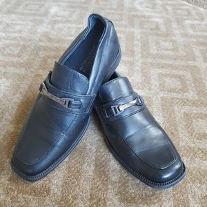 Perry Ellis Portfolio  Boys Uniform Loafers Sz3